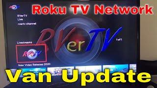 Van Update- Door Panels - Roku TV Network