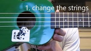 Uke Care: Get a Good Sound From Your Cheap Ukulele