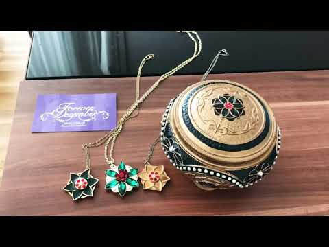 Anastasia music box necklace update togehter in paris