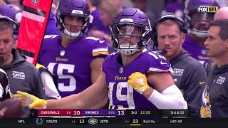 Stefon Diggs & Adam Thielen highlight (Hall of Fame)