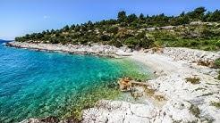 beach Tatinja, Okrug Gornji, island Čiovo, Croatia