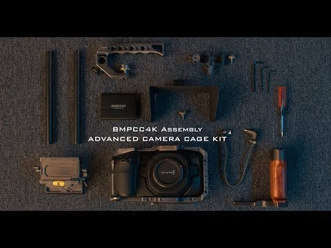 How to Assemble the Tilta Advanced Cage Kit for BMPCC4K