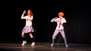 "UniCon 2015 www.unicon.lv Day I - 1 August 2015, Riga, Olympic Sports Center White Raven as Koizumi Risa and Otani Atsushi from ""Lovely Complex"" ..."