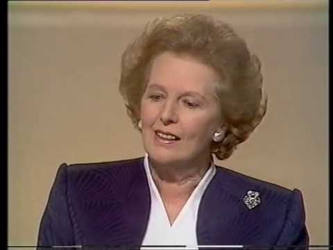 Margaret Thatcher - The Walden Interview 29/10/1989