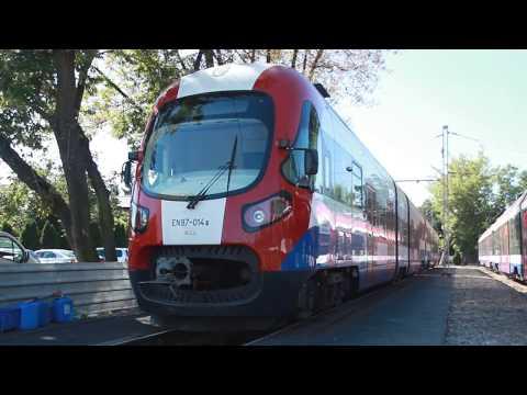 Spot promujący projekt modernizacji WKD (Warszawska Kolej Dojazdowa)
