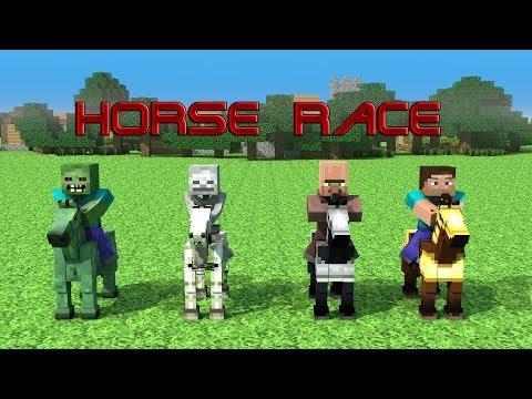 Horse Race - Minecraft Animation
