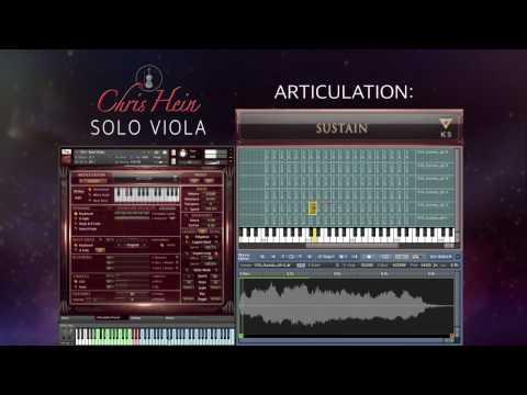 Best Service - Chris Hein Solo Viola - Articulations Walkthrough