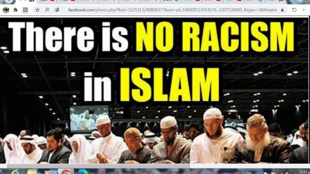 Black Lives Matter | You Can Be Anyone From Anywhere But In Islam You Are Equal