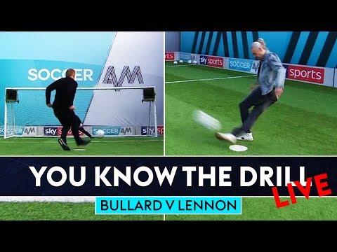 Can Jimmy nail rabona Top Bin?   Jimmy Bullard v Neil Lennon   You Know The Drill Penalty Challenge