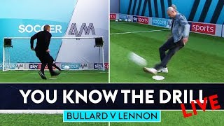 Can Jimmy nail rabona Top Bin? | Jimmy Bullard v Neil Lennon | You Know The Drill Penalty Challenge
