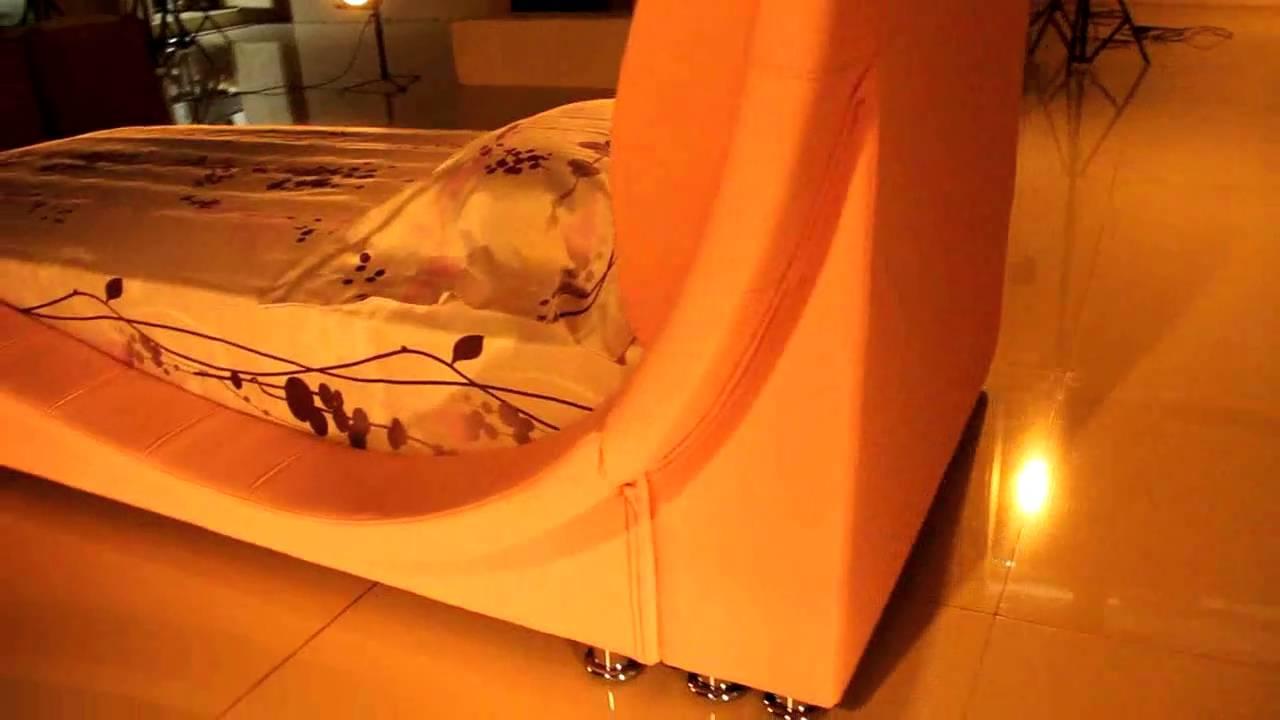 paolo collaner designer bett polsterbett lederbett bettgestell ... - 33 Design Moderne Unisex Kinderbetten Jugendbetten