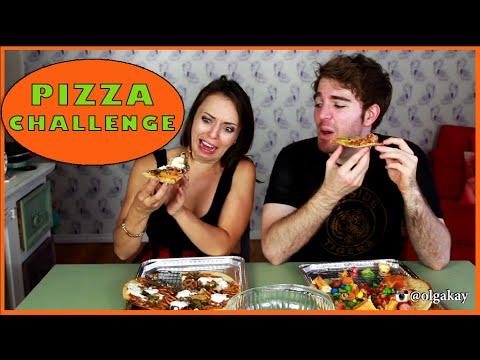 PIZZA CHALLENGE with Shane Dawson