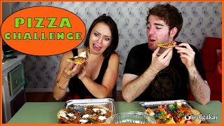 PIZZA CHALLENGE with Shane Dawson