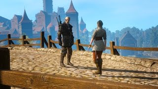 Fencing Lessons with Rosa var Attre: Win and Lose Options (Witcher 3 | Geralt)