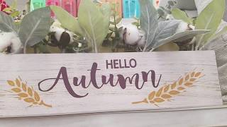 2018 Big Lots Fall Decor Shop with me