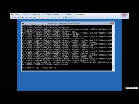 Data Backup Using CMD