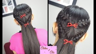 Braided Fan! | Braided Hairstyles | Half-up Hairstyles