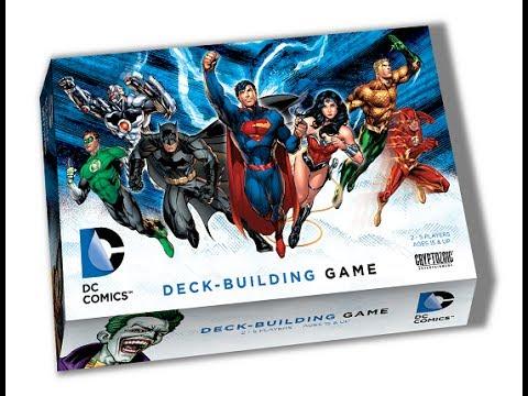 DC Comics Deck-Building Game review - Board Game Brawl