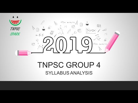 Tnpsc 2019 CCSE 4 Syllabus Analysis - Tnpsc Spark