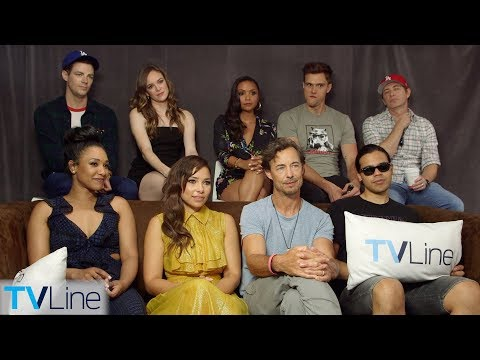 The Flash Cast Previews Season 5, Nora, Cicada Villain | Comic-Con 2018 | TVLine