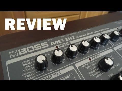 Boss ME-80 Review   Tutorial en Español