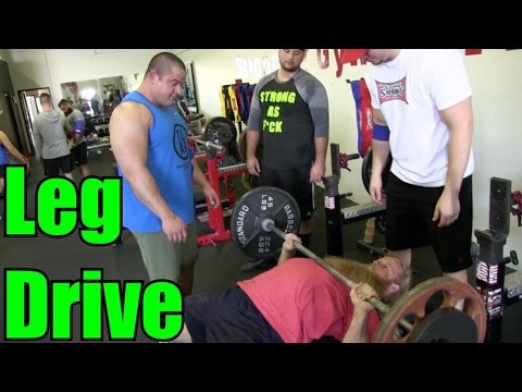 HOW TO USE LEG DRIVE: Bench Press Tips w/ MARK BELL part 1/2