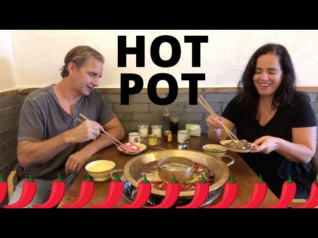 Hot Pot in Chengdu, Sichuan, China