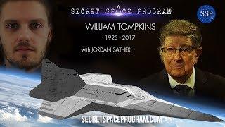 William Tompkins Last Interview with Jordan Sather - MUFON 2017 Secret Space Program