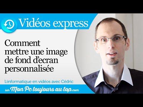 Comment mettre une image en fond d 39 cran ve 3 youtube - Comment mettre une credence ...