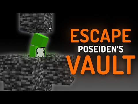 Escaping Minecraft's Most Secure Prison (Poseidon's Vault)