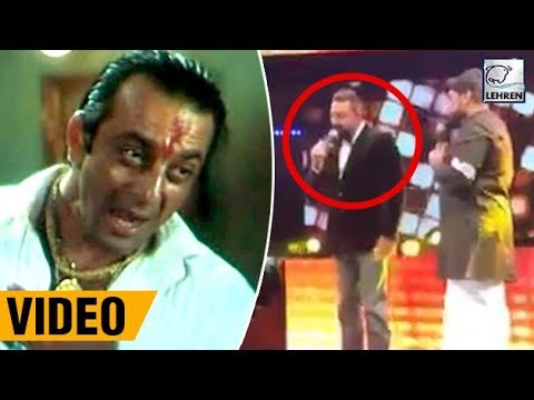 "Sanjay Dutt Re-creates ""Pachas Tola"" Dialouge At Asian Movie Vision Awards 2017 | LehrenTV"