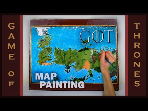 Painting A Game of Thrones Map (The Known World) on game of thrones continents, sca known world map, ice and fire world map, game of thrones world map pdf, game of thrones chart, game of thrones maps and families,