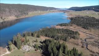 le Lac des Rousses dans le Jura