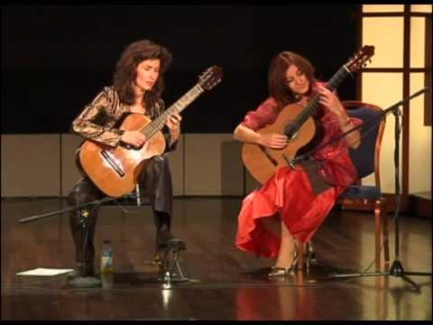 Sharon Isbin & Berta Rojas, performing live at the Ibero-American Guitar Festival