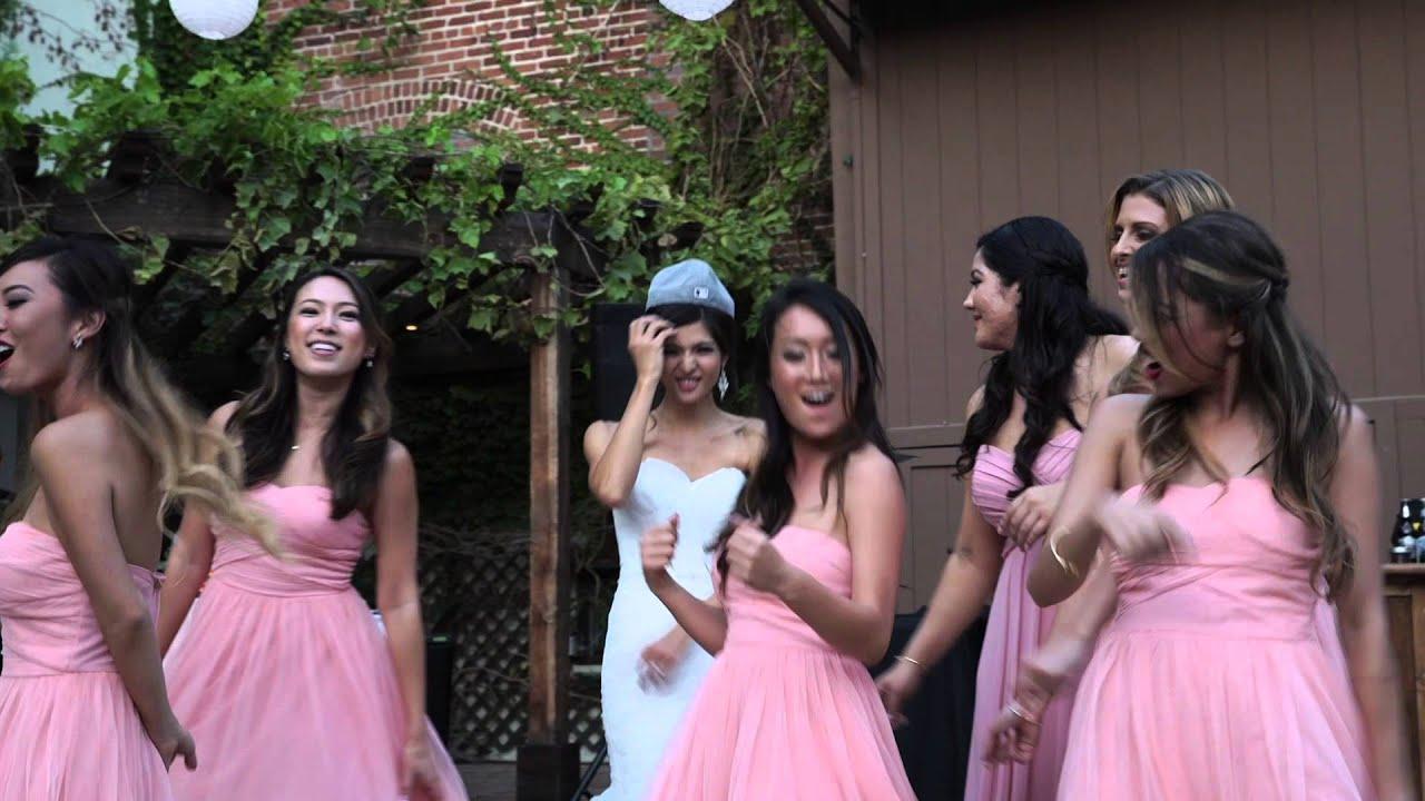 Lip sync wedding