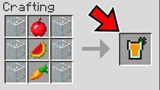 MINECRAFT 10 SECRET CRAFTING RECIPIES (Ps3/Xbox360/PS4/XboxOne/WiiU)