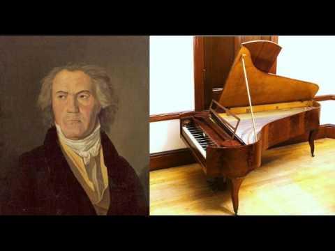 Ludwig van Beethoven - Große Fuge, Op. 134 (performed on an 1830 fortepiano)
