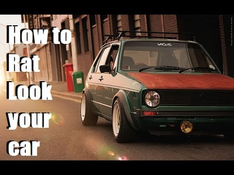 Brilliant How To Rat Look Your Car  YouTube