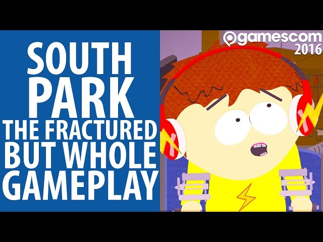 South Park: The Fractured But Whole Gamescom 2016 Trailer and Screens