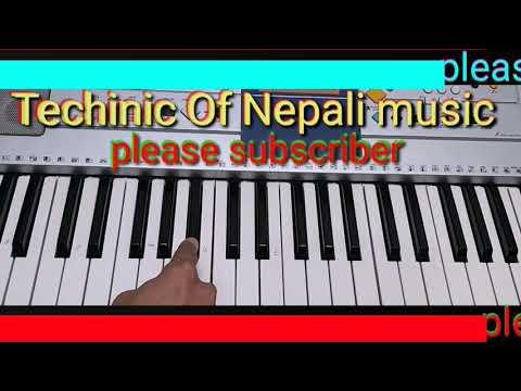 Purano Hudaina Maya //how To Play Piyano//harmonium