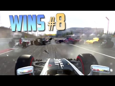 Racing Games WINS Compilation #8 (Accidental Wins, Drifts, Stunts & Close Calls)