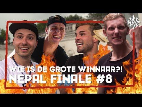 WIE IS DE GROTE WINNAAR ?!   NEPAL #8   Furtjuh & Thomas VS Gekke Markie & Laurens