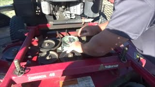 Spindle Housing Replacement, Lawn Care Vlog #52
