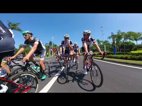 Tour of Guangxi 2017 | Stage 1 GoPro highlights