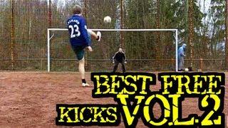 Best Free Kicks Montage | Vol.2 | 2010 | freekickerz