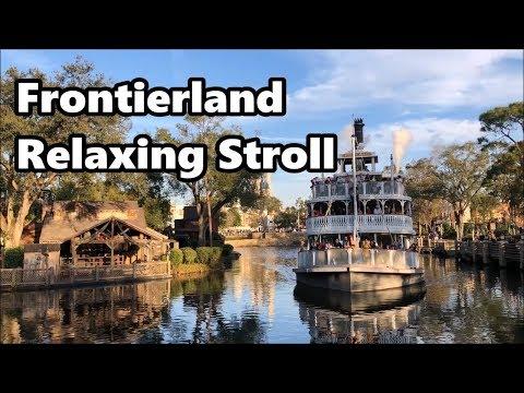 Frontierland Relaxing Stroll | Magic Kingdom | Walt Disney World