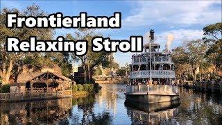 Frontierland Relaxing Stroll | Magic Kingdom | Walt Disney World thumbnail