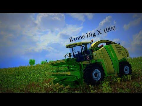 Farming Simulator 2013 Krone Big X 1000 (Silage)