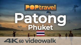 Walking in PATONG / Phuket (Thailand) - 4K 60fps (UHD)