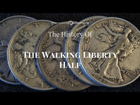 Silver History Sunday - The Walking Liberty Half Dollar